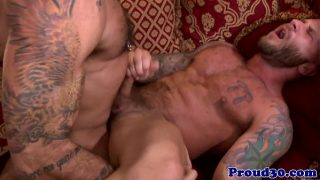 Gay bear Alessio Romero fucking ex partner