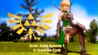 Legend of Zelda Parody – Trap Link's Quest for Cock