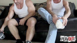 Jerk to Tony Dinozzo and Lance Hart Feet JOI MALE FEET