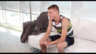 GayCastings – Amateur Drew Jacksons Porn Debut