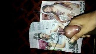 My Cum Tribute To Rakhul And Sunny leone