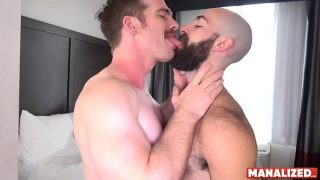 MANALIZED Nate Stetson Barebacks Hairy Jock Into Cumming