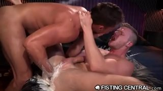 Brian Bonds is Rock Hard from Deep Fisting Penetration.MP4